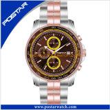 Latest Stylish Waterproof Charm Chronograph Stainless Steel Quartz Watch