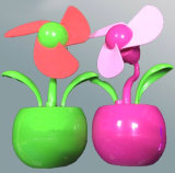 Low Noise Flower Shape USB Powered Personal Fan (4021B)