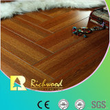 Household 12.3mm AC4 Crystal Cherry Sound Absorbing Laminated Floor