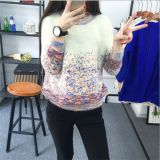 2015 Newest Colourful Pullover Knitted Garment Wholesale