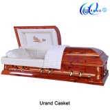 Solid Imported Red Cedar High Gloss Good Finishing Coffin and Casket