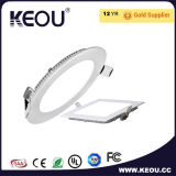 Warm White 4000k Indoor LED Panel 18W 8inch Downlight Factory/Manufacturer