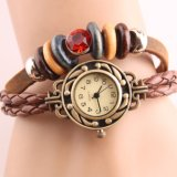 Hot Sell Genuine Leather Bracelet Watch