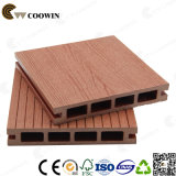 Environmentally Friendly Hollow and Grooved WPC Outdoor Flooring (TW-02B)