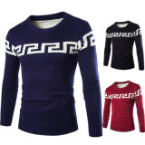 Pullover Style Men Sweater Cable Knit Silk Cashmere Sweater Mens