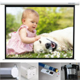 High-Quality Electric Screen Cinema Projector Screen with Customized