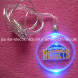 Promotion Party LED Glowing Necklace with Logo Print (2001)