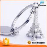 Romantic Landmark Eiffel Tower Keychain Keyfob