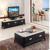 The Most Popular African Black TV Stand with Tea Table