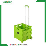 Colored Plastic Foldable Shopping Cart
