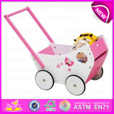 Multi-Functional Colorful Wooden Big Baby Walker for Walking, High Quality Wooden Baby Walker Wholesale W16e045