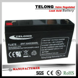 6V7ah Power Battery for Electric Car, Tools, Alarm System