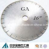 "Ga 16"" Diamond Blade, Circular Saw Blade for Cutting Granite"