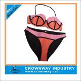 Hot Sell Triangle Neoprene Waterproof Swimwear with Fashion Design