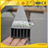 Factory Customized 6061 6063 Aluminium Extrusion Flat Tube