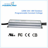 120W 24V Outdoor Programmable Dimmable Constant Voltage LED Driver