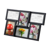 Plastic Multi Openning Collage Desk Wall Photo Frame
