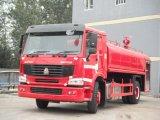 Sinotruk HOWO 4X2 LHD 15000L Water Tank Fire Truck