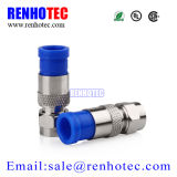 Compression RG6 Rg59 F Type Male Connector