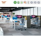 Hot Sale Modern Cubicles Office Partition with Screen and Hanging Cabinet for Office Furniture