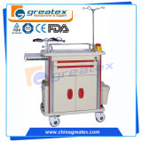 ABS Anesthesia Hospital Trolley / Medication Hot Emergency Cart (GT-TA2162A)