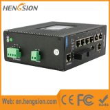 10 Ports Managed Industrial Fiber Ethernet Network Switch