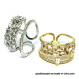 2017 New Design Wholsale 925 Silver Ring (R10747)