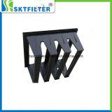 ABS Material V Bank Plastic Frame Air Filter
