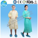 PP SMS Non Woven Disposable Isolation Gown