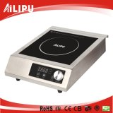 Commercial induction cooker with stainless steel body