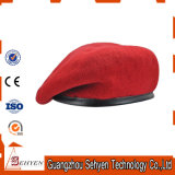 New Custom 100% Wool Army Mens Womens Beret Cap