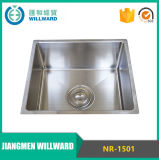 304 Square Nr-1501 Stainless Steel Handmade Kitchen Sink