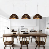 Vintage Mini Metal Dining Room Suspension Pendant Lamp Lights Lighting in Adjustable Height, Fit for Kitchen (E27 Base, Max. 60W)