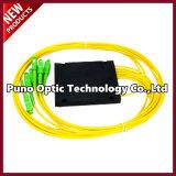 1X16 Blockless PLC FBT Planar Lightwave Circuit Splitter