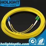 LCA to LC Duplex Singlemode Fiber Optic Patchcord