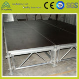 Outdoor Indoor Stage performance Event Platform Activity Aluminum Lighting Portable Plywood Stage