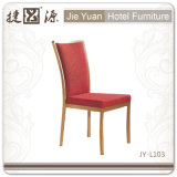 Aluminum Frame Stackable Restaurant Chairs Hotel Furniture (JY-L103)