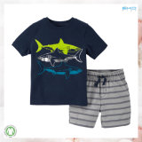 Summer Children Clothes Shark Kids Clothes Sets