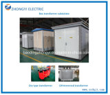 Prefabricated 33kv Compact Electric Transformers Substation Electric Substation Equipment