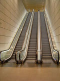Heavy Duty Escalators Public Transportation