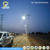18W Solar Street Light with Galvanized Pole
