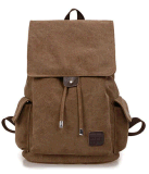 Leisure Canvas Backpack Bag for Outdoor and Campus
