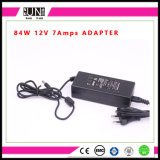 12V 7AMPS 84W Power, 84W LED Driver, 84W Adaptor, 12V 7AMPS Adapter, 84W AC/DC Adapter