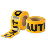 High Quality Yellow and Black PE Waning Tape