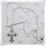 2014 Fashion Alloy Cross with Newest Necklace (IO-an007)