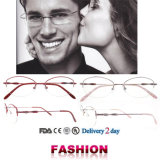 Titanium Eyeglass Frames Spectacles Frames Fashion Eyewear
