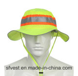 Road Safety Equipment High Visibility Bucket Hat Fishing Hats Caps Workwear Fishing Cap Outdoor Headwear