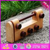 2016 New Design Children Wooden Lock Toy W02A167