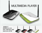 CS918 Bluetooth Quad Core TV Box Ekb311 Android 4.2.2 OS 2GB RAM 8GB ROM Rk3188 Cortex A9 Quad Core Rk3188 Mini PC New Mk888