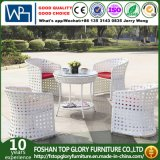 Rattan Garden Furniture Dining Table and 4 Chairs Dining Set Outdoor Patio (TG-1638)
